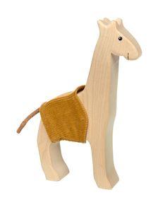 Sigikid - 39393 - Cudly Wudly, Holztier, Giraffe, 17,5cm