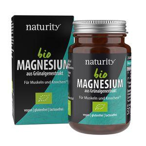 MAGNESIUM, rein pflanzliches Magnesium aus der Grünalge, für Muskeln, Knochen, Nervensystem, Energiestoffwechsel u.v.m.*