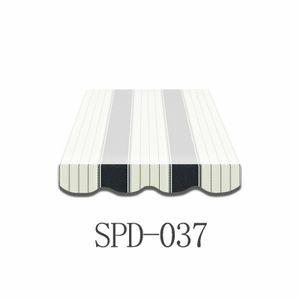 5m Markisenvolant /schabracke fertig genäht Markisenbespannung nur Volant SPD037