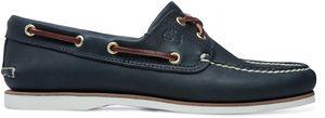Timberland Earthkeepers Classic Boat Shoe Echtleder-Bootsschuhe Navy Schuhe, Größe:43 1/2