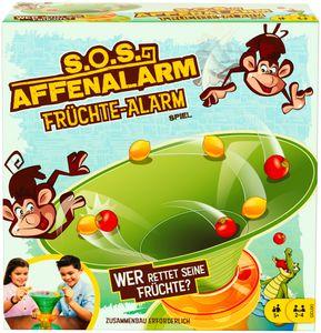 Mattel Games S.O.S. Affenalarm Früchte-Alarm Kinderspiel