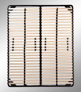 i-flair Lattenrost 140x200 cm, Lattenrahmen - für alle Matratzen geeignet