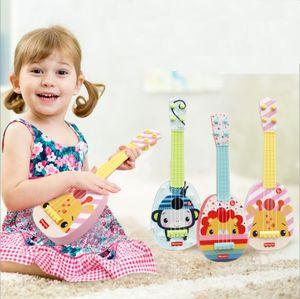 Fisher-Price Kindergitarre Baby Ukulele Spielzeug Ukulele Kinder Geschenk Affe
