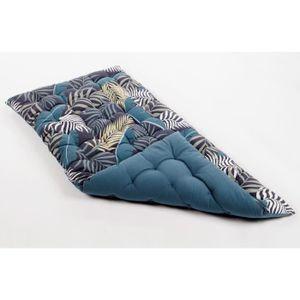 Dschungel gedruckt 100% Baumwolle weiche Bodenmatratze 120x60x5cm - Blau