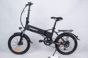 MYATU 3 E-bike Faltfahrrad Elektisches Fahrrad Schwarz