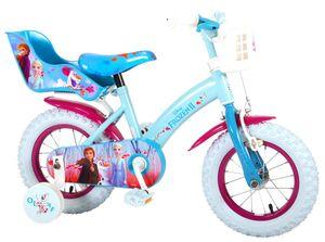 12 Zoll Kinder Fahrrad Kinderfahrrad Mädchenfahrrad Mädchenrad Rad Disney Frozen die Eiskönigin Elsa Volare 91250-CH-IT