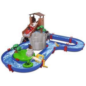 AquaPlay Wasserbahn Adventure Land Set