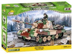 Cobi 2540 Panzerkampfwagen VI Ausführung B Königstiger - 1000 Pcs Panzer Bausatz