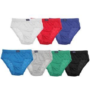 Tom Franks Jungen Unterhosen-Set, 7 Stück KU245 (116) (Rot/Weiß/Blau/Grün)