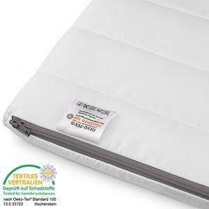 Kaltschaumtopper 120x200 - Matratzentopper für alle Matratzen Matratzenauflage