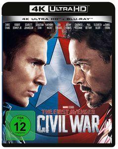 First Avenger: Civil War (UHD) Min: 147DD5.1WS  4K Ultra