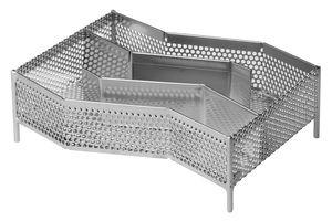 Grillpaul Kaltrauchgenerator Deluxe | Kaltraucherzeuger | Edelstahl | 19x 15 x 5,5cm