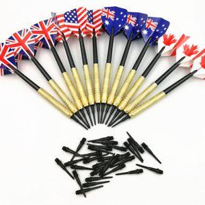 12 Stöcke Elektronisch Soft Darts + 36 Dartköpfe gebündelt Dartpfeile