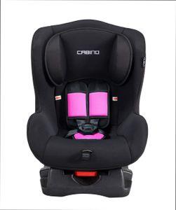 Cabino Babyschale / Autositz / Kindersitz /Autokindersitz / Kinderautositz 0-18 Kilo / Gruppe 0 + 1 schwarz/rosa