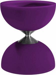 Acrobat diabolo 105 Gummi 12 x 10,5 cm lila