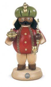 Räucherfigur Räuchermann Balthasar mittelgroß Heiligen Drei Könige (BxH):11x18cm NEU
