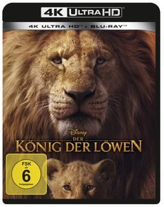 König der Löwen (Live Action Verfilmung) [Blu-Ray 4K]