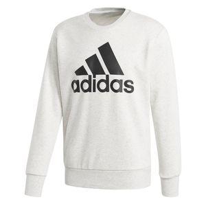 adidas Essentials ESS Big Logo Crew Neck Sweatshirt Weiß, Größe:2XL, Farbe:Weiß