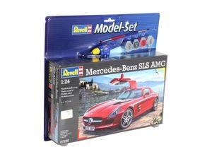 Revell Model Set Mercedes SLS AMG - Auto-Modellbausatz; 67100