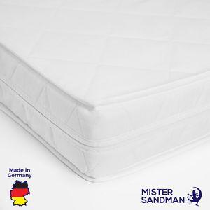 Komfortschaum-Matratze 140x200 cm - Wellness Schaum mit waschbarem Bezug -  hergestellt in Deutschland