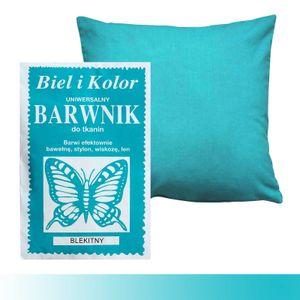 10g Batikfarbe Textilfarbe Stofffarbe färben, Farbe wählbar aus 30 Nuancen, Farbe:azurblau