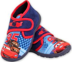 Cars Jungen Hausschuhe mit Klettverschluss Kinder Schuhe Gr. 24