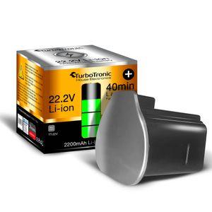 Ersatz - Akku 22.2V Li-Ion für TurboTronic VS-180 / 280 Erweiterung / zweit