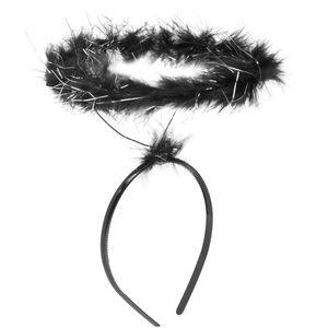 dressforfun Heiligenschein - schwarz