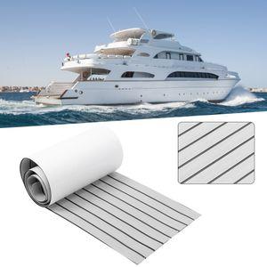 Teak EVA Schaum Boot Yacht Deck Bodenbelag Fußboden Matte Teppich Selbstklebend 45x240cm