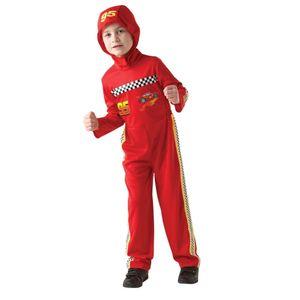Disney Cars - Kinder Kostüm Fasching Karneval Lightning McQueen Gr. 110-134, Größe:L
