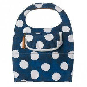 Basil shoppertas Mirte LTD blauw/wit