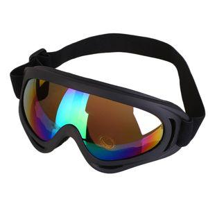 Motorrad Fahrradbrille Bunter Motocross Outdoor Helm Anti-UV