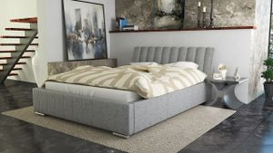 Polsterbett Bett Doppelbett IVANO 160x200cm inkl.Bettkasten