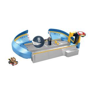 Hot Wheels Mario Kart Kettenhund-Trackset inkl. 1 Spielzeugauto