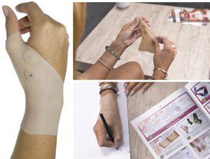 Handgelenkbandage links rechts fitness Handgelenk Bandage 4x Magnete a 450 Gauß