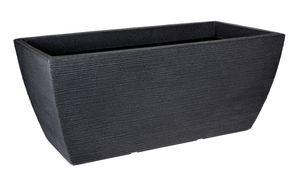 Pflanzkübel - ECKIG - 80x40 cm - Farbe: anthrazit