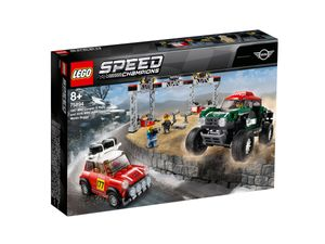 LEGO® Speed Champions Rallyeauto 1967 Mini Cooper S und Buggy 2018 Mini John Cooper Works, 75894