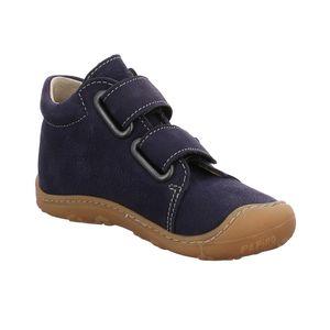 Ricosta Kinder Halbschuhe Klettschuhe Leder blau 22
