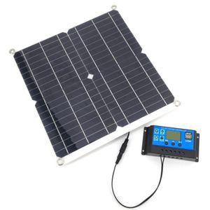 Solarpanel, 100W Solar Panel Kit, 12V USB mit 30A Controller Solarzellen für Car Yacht RV Boot Moblie Phone Batterieladegerät