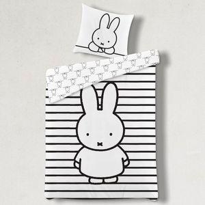Miffy Kinder-Bettwäsche 80x80 + 135x200 cm · 100% Baumwolle