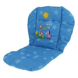 Atmungsaktive Sitzeinlage, Universal Sitzauflage für Kinderwagen, Buggy, Kindersitz und Babyschale Farbe Blau