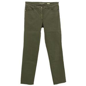 23100 Gerry Weber, Edition Line,  Damen Jeans Hose, Stretchdenim, olivegrün, D 40 Inch 31 L 32