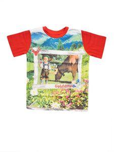 Trachten Baby T-Shirt Gipfelstürmer bunt