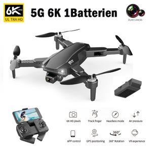 (5G 6K 1 Batterie)2021 Neue Faltbare GPS FPV Drohne 6K Full HD Kamera S608 PRO, GPS-Heimkehr und Gestensteuerung,5G WiFi Übertragung RC Drohne Quadcopter