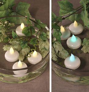 Schwimmfähige LED - Teelichte