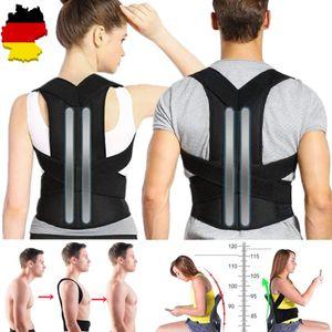 Rückenbandage Rückenhalter Haltungskorrektur Gürtel Rücken Stabilisator Büste Umfang L(81cm106cm)