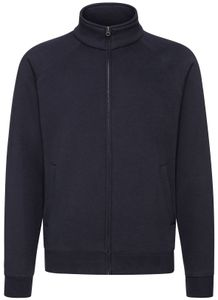 Fruit of the Loom Premium Sweat Jacket, Farbe:deep navy, Größe:L