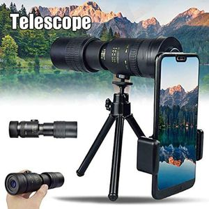 4K 10-300X40mm Super-Telezoom-Monokular-Teleskop tragbar