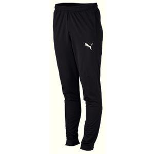 Puma Jogginghose Herren lang mit Reißverschluss am Beinabschluss, Größe:XL, Farbe:Schwarz