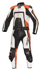 XLS Lederkombi Zweiteiler schwarz orange KTM Gr. 46 48 50 52 54 56 58 60